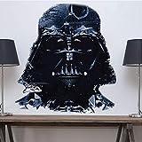 Vader Home Decor - Darth Vader Star Wars Wall Decal Dorm Room Bedroom Wallpaper Sticker Interior Murals Vinyl Mural Removable Decor for Apartment, a86
