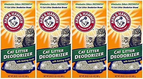 Arm & Hammer Cat Litter Deodorizer 20 oz (Pack of 4)