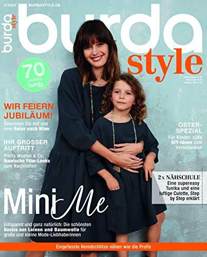burda style Nähmagazin: April-Ausgabe [2020-04], Schnittmuster ideal geeignet für Anfänger und Näherfahrene