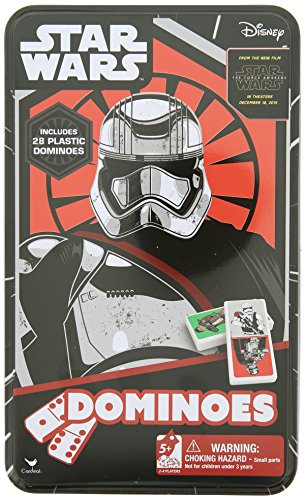 Domino in scatola di latta, motivo: Star Wars Episodio 7, numero di riferimento 18403
