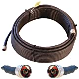 Wilson Electronics 75 ft. Black WILSON-400 Ultra Low Loss Coax Cable (N-Male to NMale)( 952375) cell phone signal boosters May, 2021