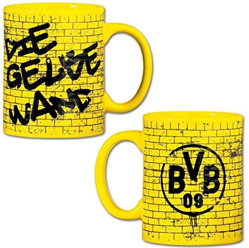 Borussia Dortmund Tasse/Kaffeetasse/Kaffeepott/Mug - Gelbe Wand BVB 09