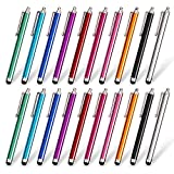 homEdge Stylus Pen Set of 20 Pack, Universal Capacitive Touch Screen Stylus Compatible with iPad, iPhone, Samsung, Kindle Touch, Compatible with All Device with Capacitive Touch Screen – 10 Color