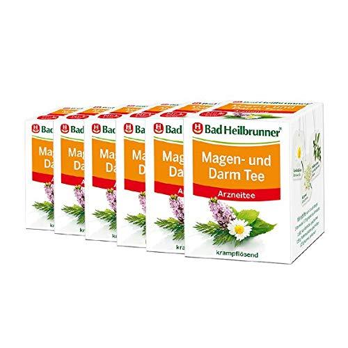 Bad Heilbrunner® Magen- und Darm Tee - 6er Pack