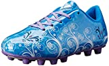 Vizari Youth/Jr Frost FG Soccer Cleats | Soccer Cleats Girls | Kids Soccer Cleats | Outoor Soccer Shoes | Blue/Purple 9