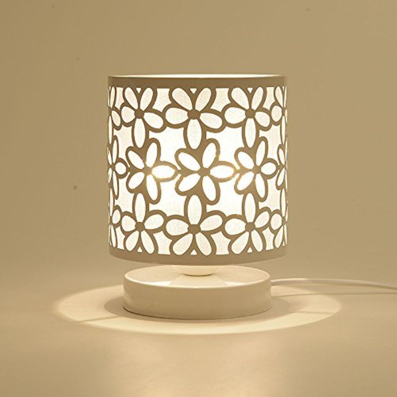 HYW Tischlampe-Lampe Schlafzimmer Bettlampen kreative Kurze über LED Licht Plug-Eye Schutz Studie elektrische Leselampe Dimmen