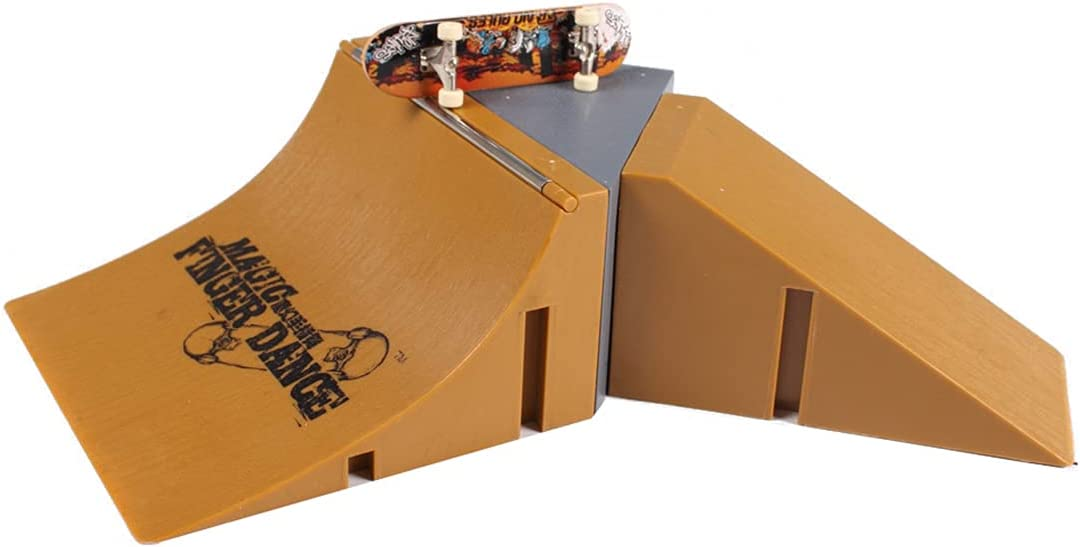 Fingerboard low-pricing Super beauty product restock quality top! Ramp Parts for Finger Skateboard Pipe Half Skateboar