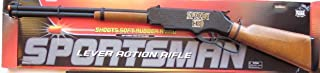 Big Game Toys~Lever Action Rifle Gun Shoots Soft Rubber Ammo Bullet Edison GIOCATTOLI