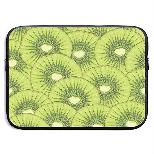 Reife Kiwi Fruit Slice 15 Zoll Laptop-Ärmeltasche Tragbare Reißverschluss-Laptop-Tasche Tablet-Tasche, wasserdicht