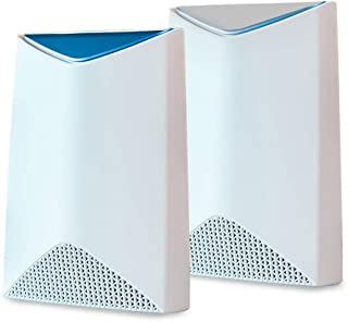 NETGEAR Orbi Pro Tri-Band Mesh WiFi System (SRK60) - Router & Extender Replacement covers up to 5,000 sq. ft, 2 Pack, 3Gbp...