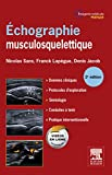 Echographie musculosquelettique - Format Kindle - 54,99 €