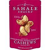 Sahale Snacks Pomegranate Vanilla Flavored Cashews Glazed Mix, 4 Ounces (Pack of...