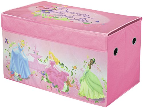 Disney Princess Collapsible Storage Trunk, Pink