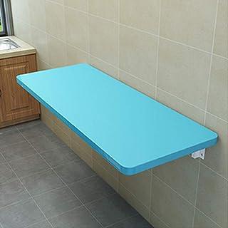 YNAYG Table Murale Table Pliante Murale, Table Murale à abattant, Bureau de Table de Salle à Manger Pliant Multifonction p...