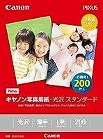 Canon 写真用紙 光沢スタンダードL判 200枚 SD-201L200