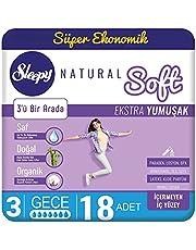 Sleepy Natural Soft Extra Yumuşak Gece, 18 Adet