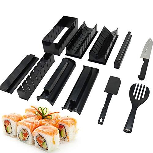 TOKINCEN Sushi Maker Kit Pièces, 8 Formes Moules à...
