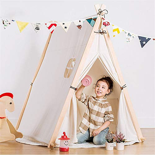 Great Deal! YonCog Comfortable Children's Playhouse Tents Tunnels for Kids Baby Indoor and Outdoor P...