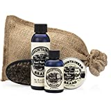 Beard Grooming Care Kit for Men by Mountaineer Brand |...