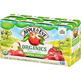 Apple & Eve Organics Apple Juice, 6.75 Fluid-oz, 40 Count