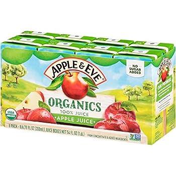 Apple & Eve Organics Apple Juice 6.75 Fluid-oz 40 Count
