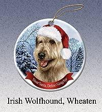Define Naughty Wheaten Irish Wolfhound Ornament