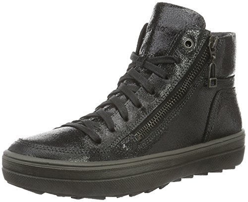 Legero MIRA 700852, Damen High-Top Sneaker, Schwarz (SCHWARZ 00), 38.5 EU (5.5 UK)