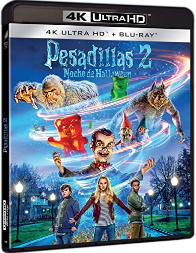 Pesadillas 2: Noche De Halloween (4K UHD + BD) [Blu-ray]