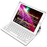 Inateck Ultra Slim Tastatur Hülle kampatibel mit iPad 2018(6. Generation), iPad...