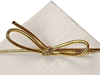 gold elastic bands