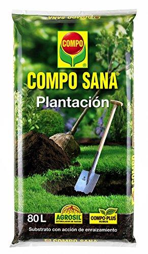 Compo Substratos y turbas Sana plantación, 80 l