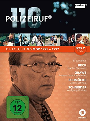 Polizeiruf 110 - MDR-Box 2 [3 DVDs]