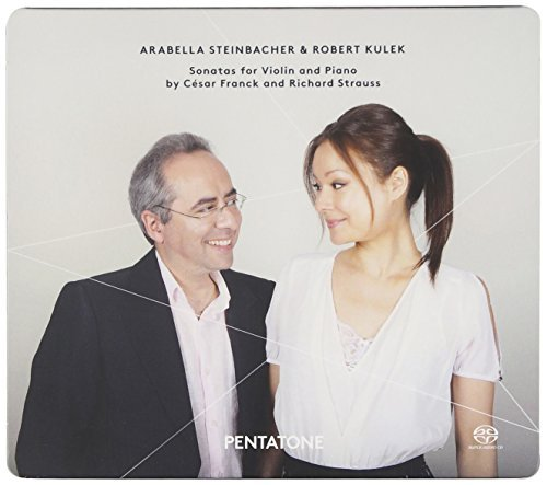 Franck & Strauss: Sonatas for Violin and Piano by Arabella Steinbacher (2014-09-09)