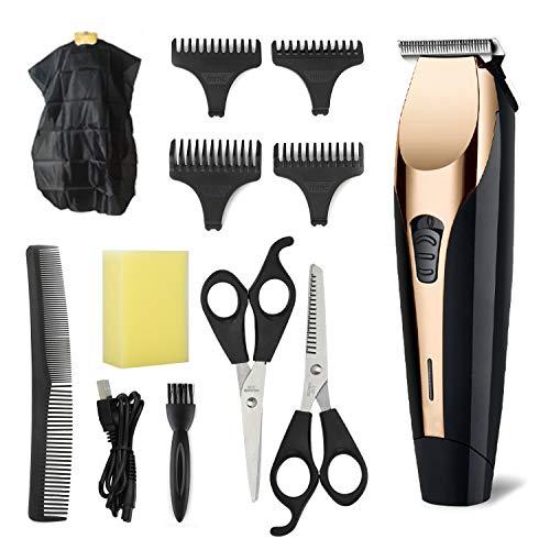 YAGU Haarschneidemaschine Wiederaufladbarer Akku-Haarschneider Haarschneider Bartrasierer Elektrisches Haarschnitt-Kit für Männer