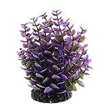 Homyl Künstliche Pflanze Kunststoffpflanzen Aquarium Terrarium Dekoration