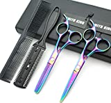 Best Thinning Shears - 5.5 Inches Hair Scissors with Thinning Comb Hair Review
