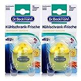 Dr. Beckmann Kühlschrank Frische | 2x40g | entfernt unangenehme Gerüche und hinterlässt einen angenehmen Duft