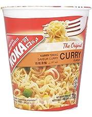Koka Oriental Instant Original Curry Flavour Noodles, 70 g