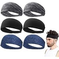 Set of 6 WDYS Non Slip Athletic Sports Headband