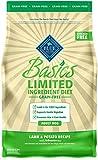 Blue Buffalo Basics Limited Ingredient Diet, Grain Free Natural Adult Dry Dog Food, Lamb & Potato 4-lb