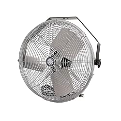 professional Industrial Workplace Fan TPI Corporation U18-TE – 120 Volts Horizontal, Vertical 360 Degrees…