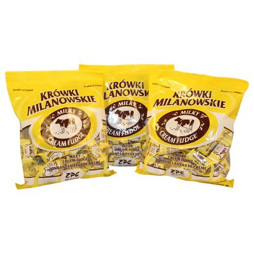 Krowki Milanowskie Milky Cream Fudge (300g/10.6oz) Pack of 3