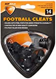 Sof Sole Mens Nylon Replacement Cleat for Football Shoes, 1/2-Inch, Black