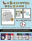Ejercicios con laberintos para niños de tres años (Laberintos - Volumen 2): 25 fichas imprimibles con laberintos a todo color para niños de preescolar/infantil (23)