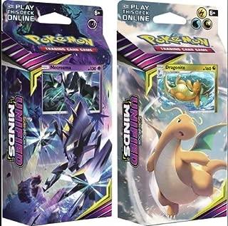 Pokemon Sun & Moon Unified Minds Theme Decks Necrozma & Dragonite!