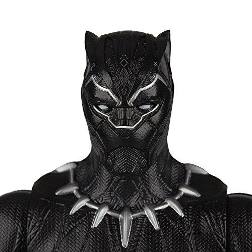 Figurine de la Panthère Noire de la Série Titan Hero Series - 5