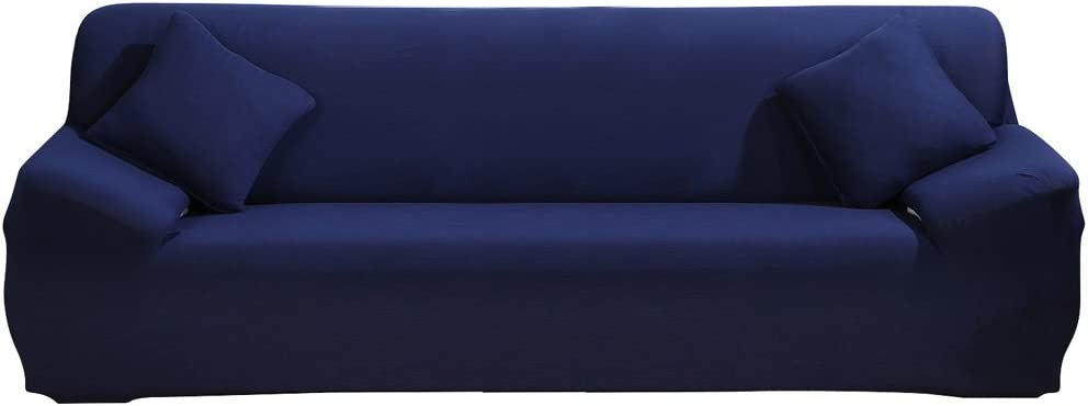 Stretch Sofa Cover 1 Piece Slipco 5☆大好評 Couch 人気激安 Fabric Spandex Polyester
