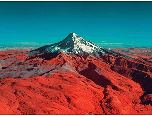 HJHJHJ Puzzle for Adults (Mountain Peak) 1500 Piece Jigsaw Puzzle Art Paintings 87x57cm