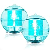 iYeHo Solar Floating Pool Lights 2021 Upgraded Waterproof Pond Light with Multi Color Changing LED Globe Night Light for Gargen Swimming Pool Tub Party Home Decor