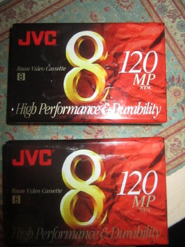 Best Review Of JVC 120-Minute Standard 8mm Camcorder Tapes (2 Pack) (P6120JH2)